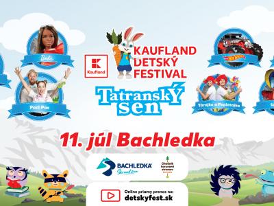 Tatranský sen – Kaufland detský festival  v Bachledke !